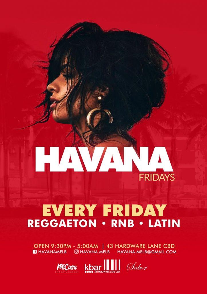 HAVANA Fridays | Khokolat Bar